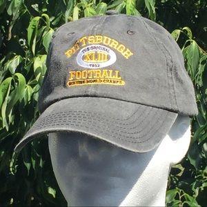 Pittsburgh Football Champion Gray Hat Cap